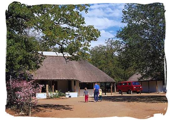 Cottage at the rest camp - Shingwedzi Rest Camp, Kruger National Park, South Africa