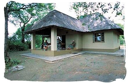 One of the cottages at Sirheni camp - Sirheni Bushveld Camp, Kruger National Park Safari, South Africa