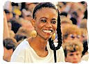 Young South African smiling at the future with confidence