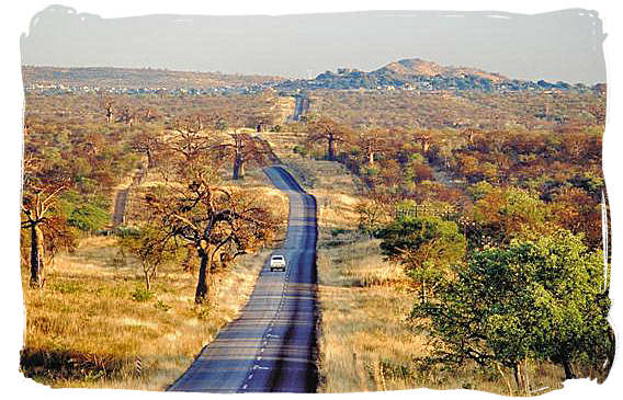 Provincial road to musina (previously Messina) on the border with Zimbabwe