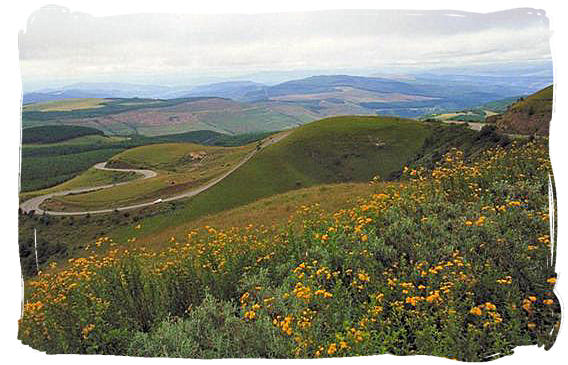 Long Tom pass in the Mpumalanga province