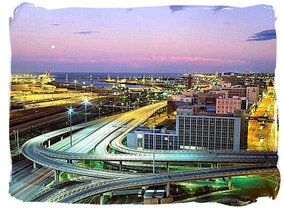 Metropolitan highways around Port Elizabeth