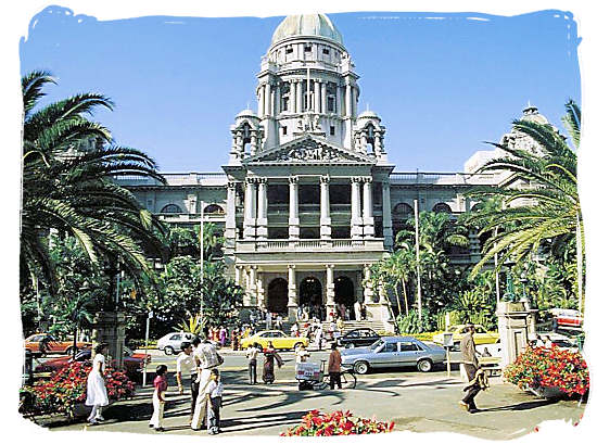 The City Hall of Durban - South Africa Government, South Africa Government type