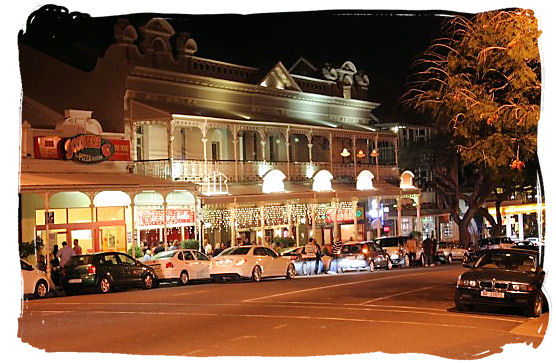 Florida Road in Durban, a hub of activity on every night of the week