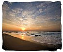 sunset over kings beach in port elizabeth, south africa