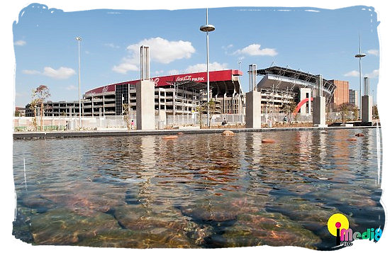 Ellis Park Stadium at Johannesburg - South Africa Rugby, Tri Nations Rugby and Super 14 Rugby