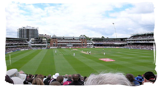 Cricket test match between England and South Africa at Lord's in July 2008 - Cricket South Africa