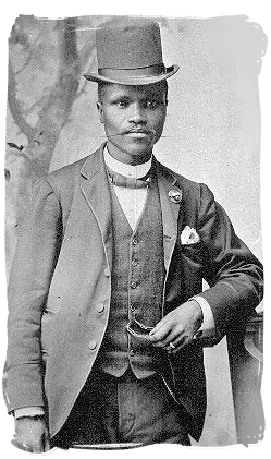 Enoch Sontonga, co-composer of South Africa's new national anthem - National symbols of South Africa