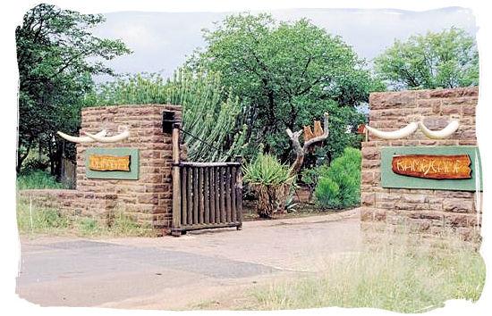 Olifants Restcamp, Kruger National Park, South Africa - Entrance gate to the camp
