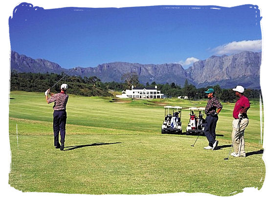 Erinvale in Somerset West is said to be one of the best residential golf courses in South Africa - Activity Attractions in Cape Town South Africa and the Cape Peninsula