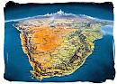 Interactive satellite view map of South Africa