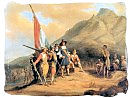 Painting of the arrival of Jan van Riebeeck in the Cape in 1652