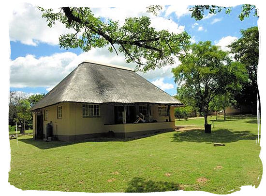 Family cottage at the Pretoriuskop rest camp