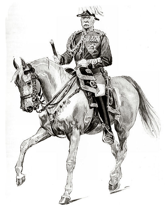 Field Marshal Lord Roberts (1832 - 1914) - Anglo Boer War in South Africa