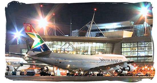 O.R. Tambo International airport at Johannesburg