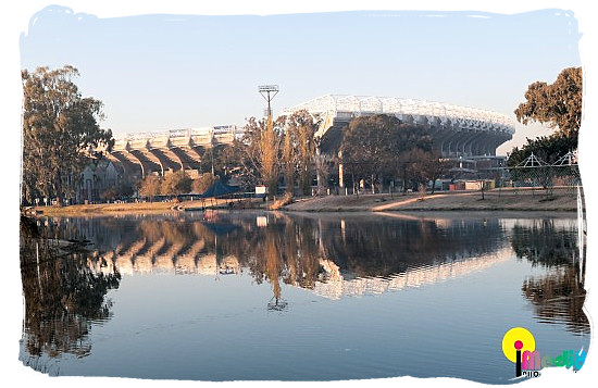 Free State stadium at Bloemfontein - South Africa Rugby, Tri Nations Rugby and Super 14 Rugby