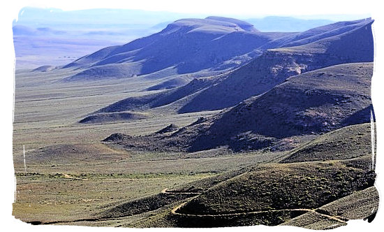 Another great view from the top of Gannaga Pass - Tankwa Karoo National Park, National Parks in South Africa