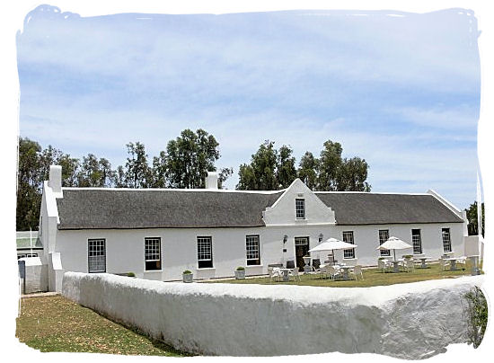 The widely acclaimed Geelbek restaurant in an old historical Cape Dutch style house - West Coast National Park Attractions, South Africa National Parks