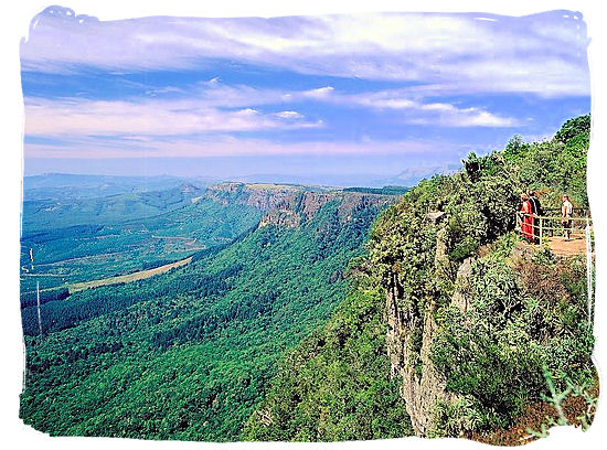 God's Window lookout in Mpumalanga province