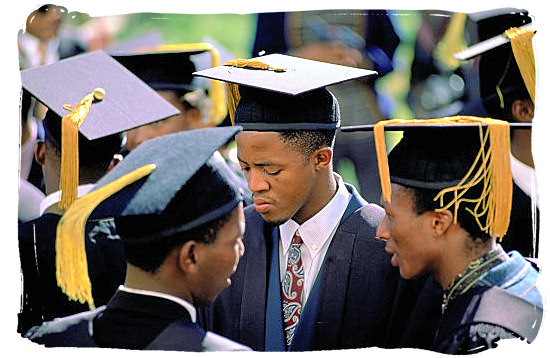 Graduation day at one of South Africa's universities