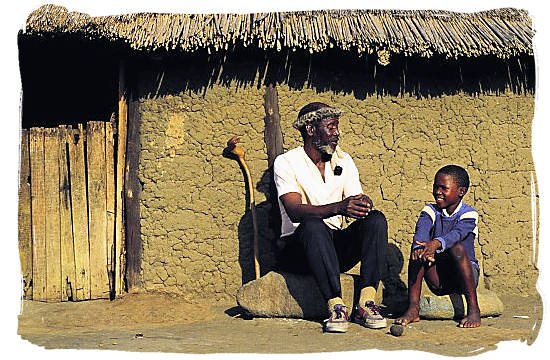 From grandfather to grandson - languages of south africa, south african language