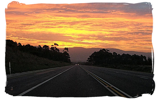 Sunset in the Great Karoo
