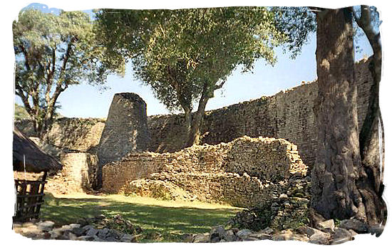 Great Zimbabwe Ruins, remnants of the former capital of the Monomotapa Empire - ancient Africa history
