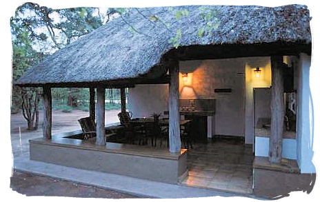 Guest cottage at the camp - Bateleur Camp, Place of the Bateleur Eagle, Kruger National Park