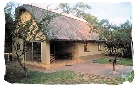 Guest cottage at Biyamiti bushveld camp