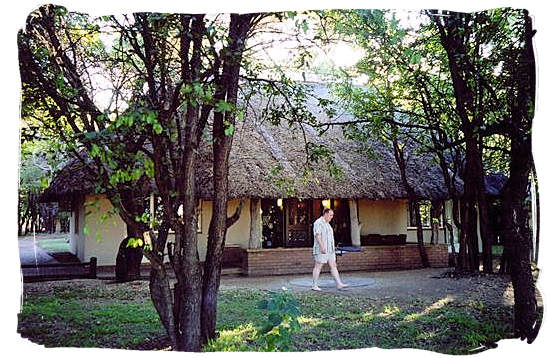 Guest cottage at Letaba main rest camp
