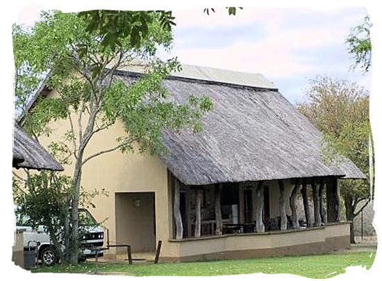 Guest cottage at Orpen Camp in the Kruger National Park, South Africa