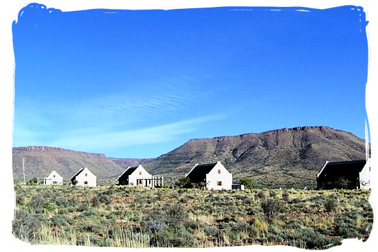 Guest cottages in the Karoo - Camdeboo National Park (previously Karoo Nature Reserve