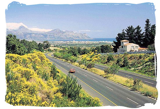 Highway in the Cape Peninsula