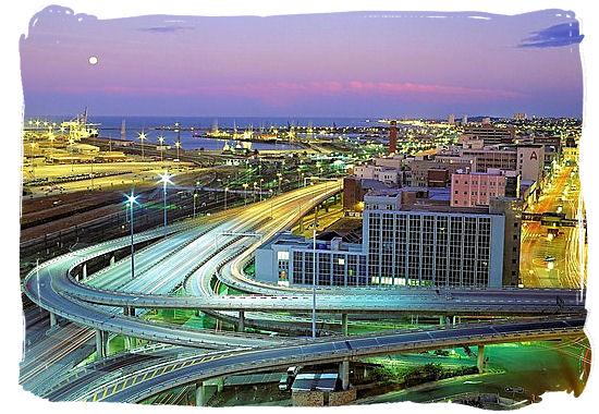 Highways intersection at Port Elizabeth