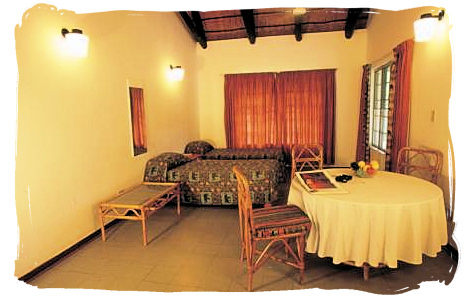 Interior of a Family Bungalow at Punda Maria rest camp