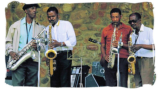 Saxophone is king - South African Music, a Fusion of South Africa Music Cultures