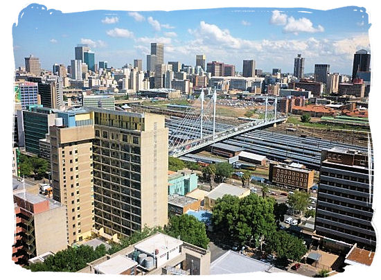 View of the Johannesburg Central Business District from Braamfontein - City of Johannesburg South Africa, Tours and Travel guide