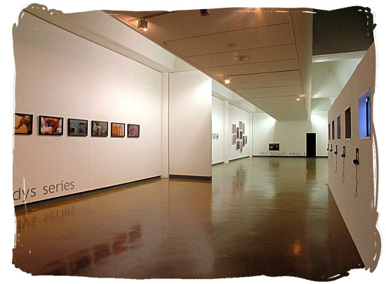 Inside the Johannesburg Art Gallery, which comprises 15 exposition halls - City of Johannesburg South Africa Attractions, the Top 15