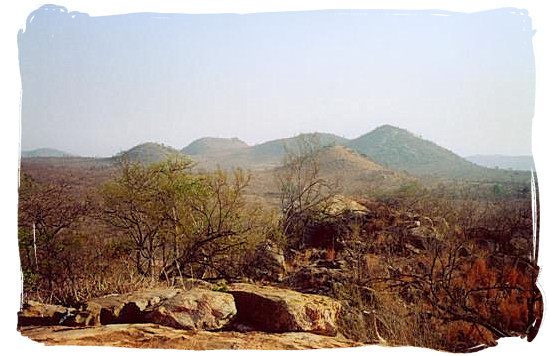 Landscape in the Kruger National Park - Boulders Bush Lodge, Kruger National Park, South Africa