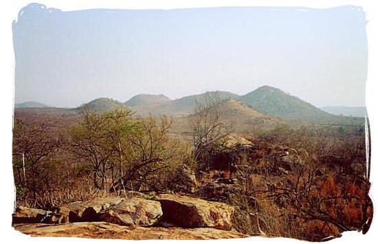 Landscape in the Kruger National Park - Boulders Bush Lodge, Kruger National Park, South Africa