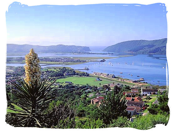 Knysna lagoon panorama - Knysna Weather and Climate Features