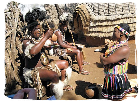 When Zulu women serve food or drinks to their men, they are supposed to kneel to show respect - City of Johannesburg South Africa Attractions, the Top 15