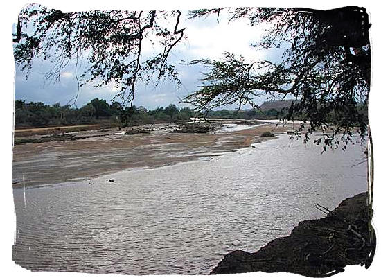 The Limpopo river - Mapungubwe information