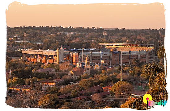 The Loftus Versfeld stadium in Pretoria - South African Rugby, South Africa Rugby Team, Early Days
