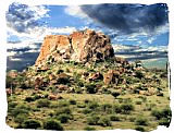 Mapungubwe Hill in the Mapungubwe National park