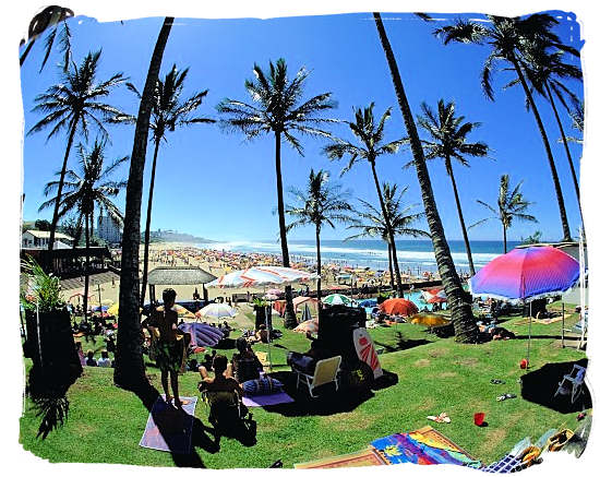 Margate beach at the KwaZulu natal south coast - Ode to Kwazulu Natal Province, Tourism, South Africa