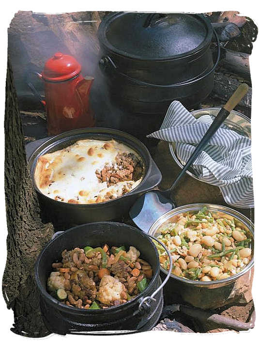 South Africa's potjie tradition is almost as popular as the legendary Braai (barbecue) - pot food (Potjiekos) in South Africa