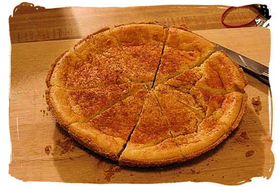 Melktert (Milk tart) – South African food adventure, South Africa food