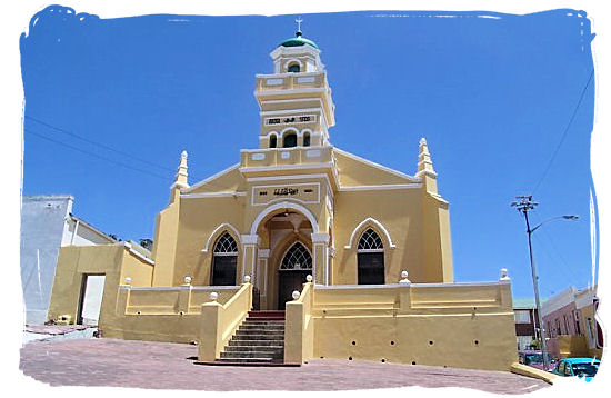 One of the 10 Mosques in the Bo Kaap (Old Malayan quarter) - Religions in South Africa, South Africa religion overview