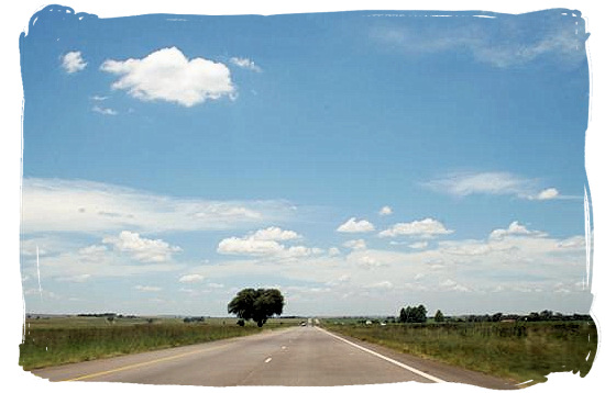 The N4 highway from Johannesburg to the Kruger National Park and Mozambique